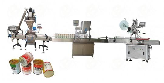 Fully automatic Single head powder filling line-