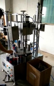 BKGC-6 Paper tube Gluing and curling 2 in 1 machine