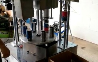 Candy paper tube making machine