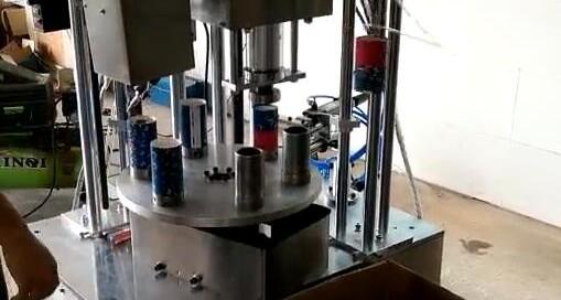 Candy paper tube making machine