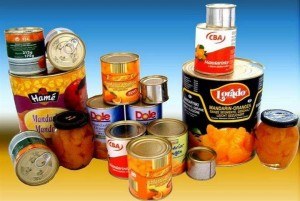 Food cans for full auto can seamer