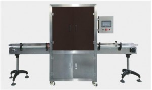 Fully auto vacuum can sealing machine with gas flushing