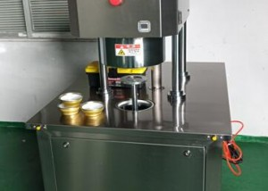 Semi auto vacuum can seamer with Nitrogen Injecting