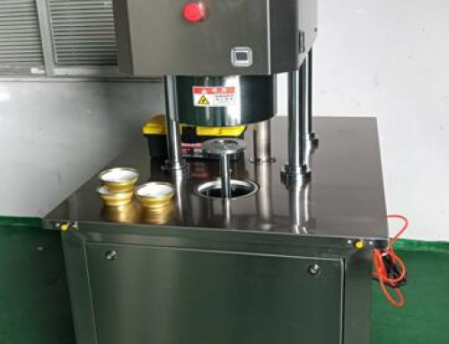 BKSS-VN New model semi auto vacuum can seamer with Nitrogen Injecting