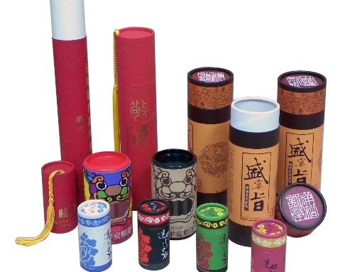 Cosmetic paper tube Production process