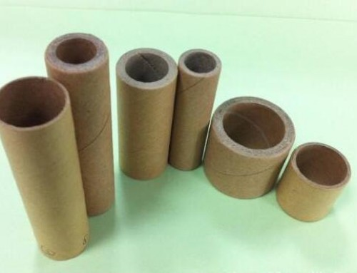 How to cut the paper tube in beauty edge?