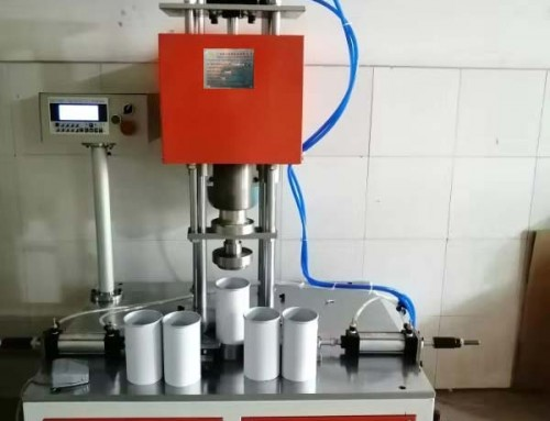 BKSRC-1 Manual Potato Chips paper tube edge rolling machine