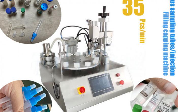 Virus sampling tube packaging machine---Supporting Covid-19 Nucleic acid testing
